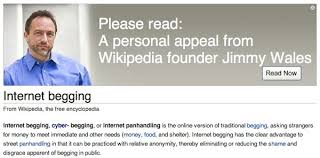 Wikipedia Donation Meme - what s with all those banners the wikipedian