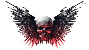 skull and gun scary wallpapers hd scary wallpapers