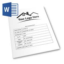 house inspection report sample report form pro ms word version home inspection report report