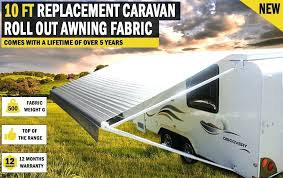 Caravan Rollout Awnings Dometic 9100 Awning Fabric Replacement Instructions A 10 Ft