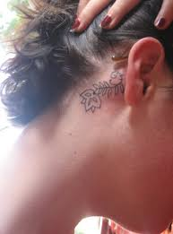 cover tattoo behind your ear differentstrokesfromdifferentfolks behind the ear tattoos for girls