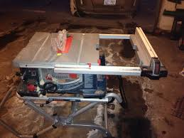 bosch gravity rise table saw stand bosch 10 table saw with gravity rise stand 4100 09 review pro