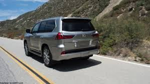 lexus lx horsepower 2018 lexus lx review redesign engine release date price and photos