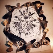 norse tattoo design