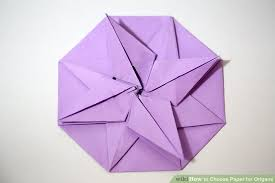 Origami Paper Works - how to choose paper for origami 12 steps with pictures