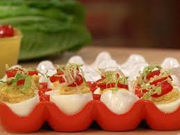 thanksgiving nibbles that won t fill you up blt deviled eggs recipe