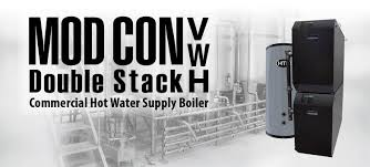 htp mod con double stack volume water heater