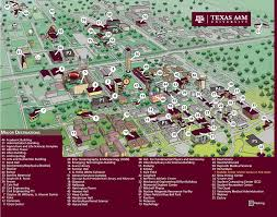 Virginia Tech Campus Map by Texas A U0026m University Campus Map Texas A U0026m Texas A U0026m University