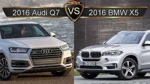 bmw x7 vs audi q7 2017 audi q7 vs bmw x5 vs gle crash test