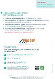 pro btp siege une surcomplémentaire santé pour être encore mieux remboursé pdf