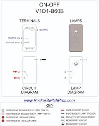 dpdt rocker switch in carling technologies rocker switch wiring