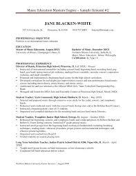 Substitute Teacher Resume Samples Degree Resume Sample Resume For Your Job Application
