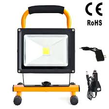 battery powered work lights rechargeable battery powered led work light with magnetic base 15w