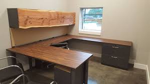 U Shaped Office Desk Custom U Shaped Office Desk Industrial Office Furniture