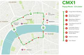Smart Bus Route Map by Route Planner Citymapper Experiments With Its Own Bus Service