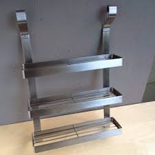 Ikea Discontinued Bookshelf Ikea Grundtal Stainless Steel Spice Rack Hanging System