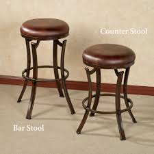 bar stools backless swivel bar stools kelford or counter stool