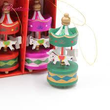 online shop 6pcs merry go round wood craft christmas ornaments
