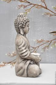 buy buddha sculpture for home and garden in concrete on livemaster