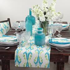 Coffee Table Linens by Table Linens Everything Turquoise