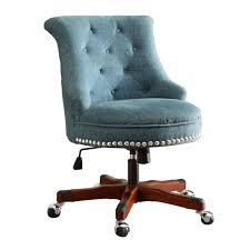 Armless Swivel Desk Chair by Upholstered Office Chair No Wheels Best Home Furniture Decoration