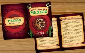 best photos of mexican restaurant menu design mexican restaurant