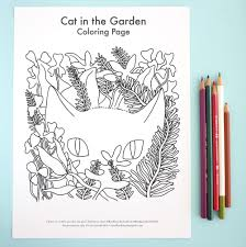 100 garden coloring pages printable leaf leaf pictures to color