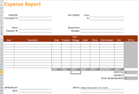 Travel Spreadsheet Excel Templates Expense Report Template In Excel