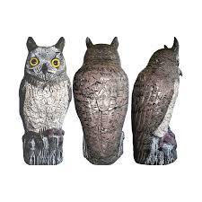 brown owl garden ornament and bird scarer at homebase co uk