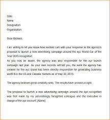 business proposal letter sample business proposal