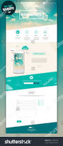 one page website design stock vector 213185257 shutterstock
