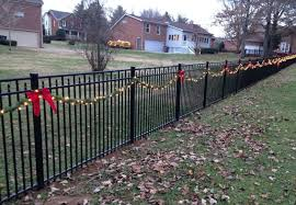 diy fence decorations by repurposing and modifying unused things