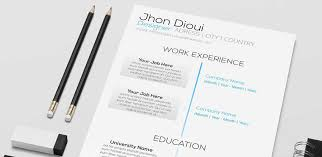 Free Resume Template Design 40 Best Free Resume Psd Mockup Templates 2017