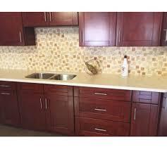 Cognac Shaker Shaker Cabinets Cherry Kitchen Cabinets RTA - Cognac kitchen cabinets