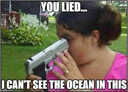 Dumb Girl Meme - dumb girl gun memes imgflip