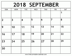printable calendar 2018 august september 2018 calendar free printable calendar throughout