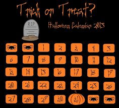 trick or treat halloween calendar by erin hardwicke on deviantart