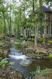 Waterfalls In Backyard Ponds by Waterfalls And Streams Run Throughout The Backyard Property Of