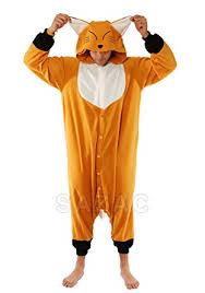 Hamster Halloween Costumes Amazon Kigurumi Fox Animal Pyjamas Fancy Dress
