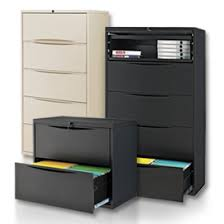 Global 4 Drawer Lateral File Cabinet Lateral File Cabinets Global Industrial