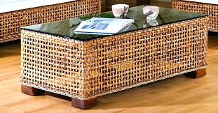 round wicker end table wicker basket end tables wicker basket coffee table round wicker