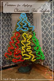 4 Christmas Tree With Lights by Stick Pony Creations 20 Tips For Putting Christmas Lights On Your