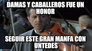 Violin Meme - damas y caballeros fue un honor titanic violin meme on memegen