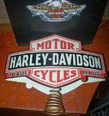 harley davidson dated jingle bell tree ornament