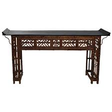 altar table for sale antique chinese bamboo console altar table from a unique