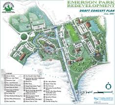 Cayuga County Map Map Of Emerson Park Master Plan