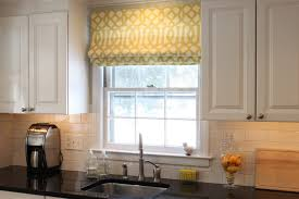window treatments for kitchens furniture delightful custom kitchen window treatment window
