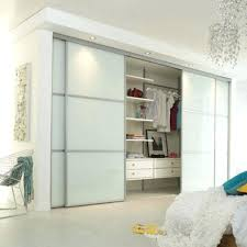 Bedroom Closet Sliding Doors Top Closet Sliding Doors Ideas Small Home Ideas