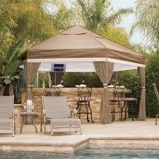 Backyard Gazebo Wicker Patio Furniture As Patio Umbrellas With Perfect Patio