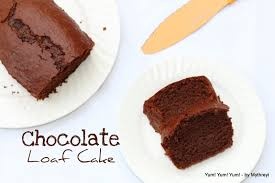 yum yum yum eggless chocolate loaf cake no egg u0026 no butter
